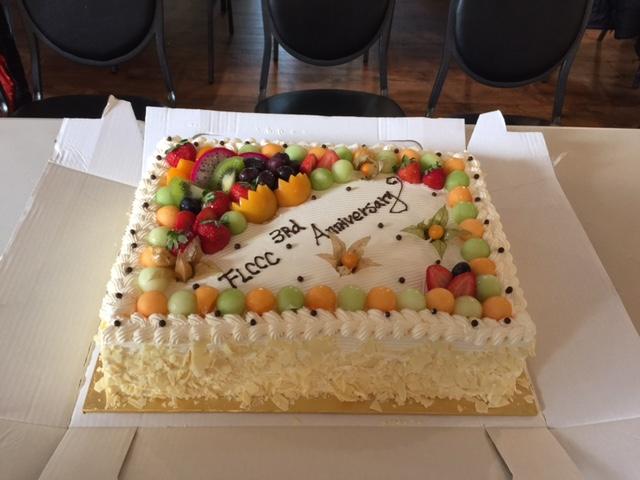 2017/10/15 三週年慶蛋糕