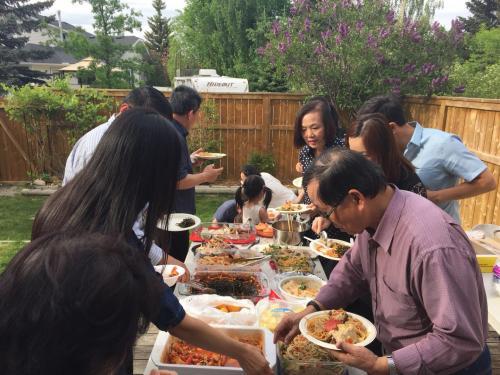 2018/06 Frank牧師Nancy師母來訪聚餐(2)
